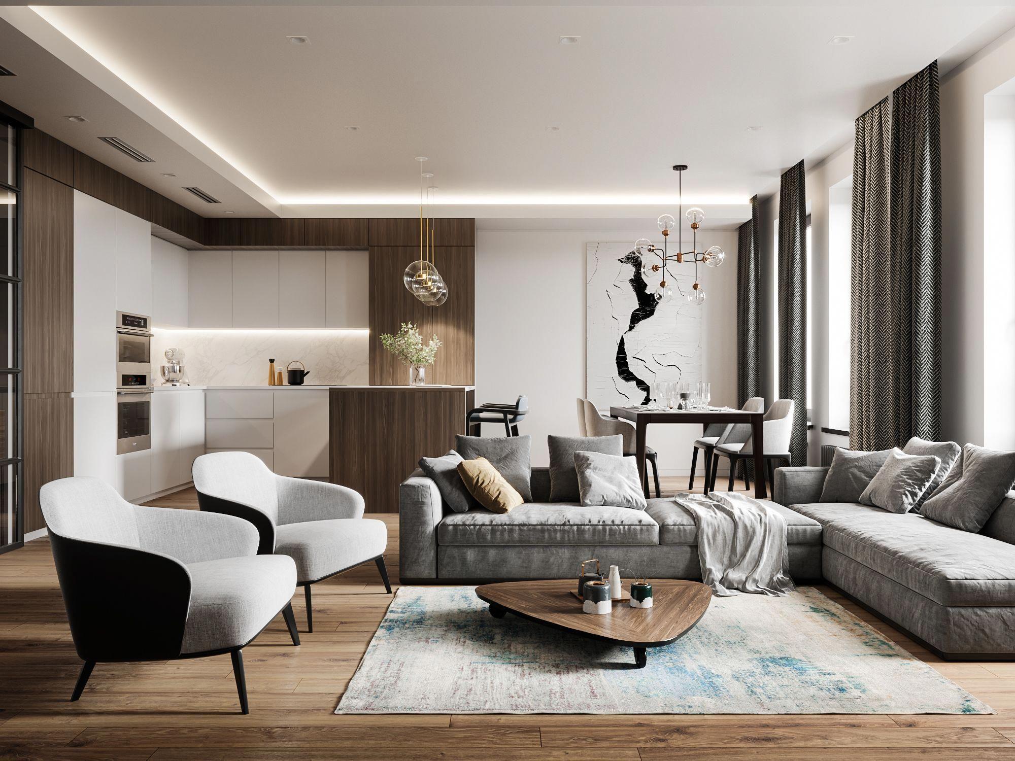 Дизайн проекты от галереи мебели Акватория в Рязани